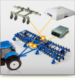AgGPS Autopilot TrueTracker system keeps implements on a repeatable path