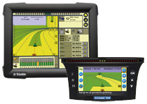 AgGPS FmX and AgGPS EZ-Guide 500